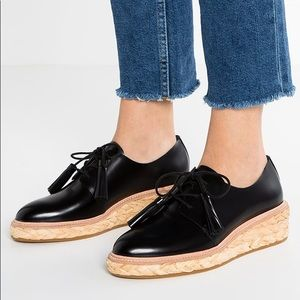Loeffler Randall Callie Tassel Oxfords Black